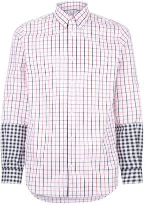 Stella McCartney Contrast Cuff Checked Shirt