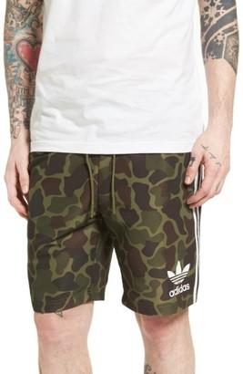 Men's Adidas Originals Camo Shorts $50 thestylecure.com