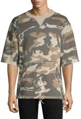 Max Mara Madison Camouflage Crewneck Sweatshirt