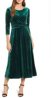 Chaus Velvet Midi Dress