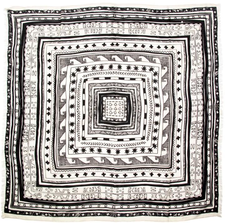 Mara Hoffman Printed Wool Scarf