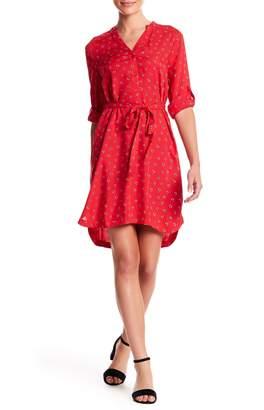 BeachLunchLounge Shelli 3/4 Sleeve Print Dress