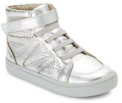 Old Soles Toddler's& Girl's Starter Shoe High-Top Leather Sneakers