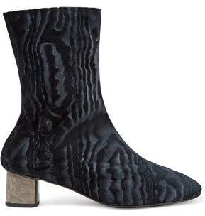 Clergerie Plopt Devore-satin Ankle Boots