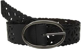 Steve Madden Reversible Perforated Belt Women's Belts