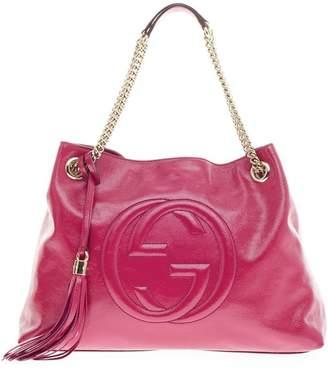 Gucci Soho Shoulder Chain Strap Medium Pink