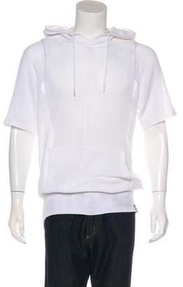 Y-3 Mesh Knit Short Sleeve Hoodie