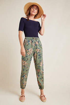 Anthropologie Orana Printed Joggers