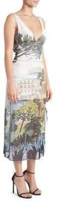 Altuzarra Silk Tuscany Print Dress