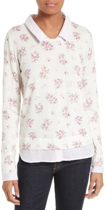 Women's Joie Rika J Layered Look Sweater $298 thestylecure.com