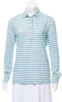 Loro Piana Linen Long Sleeve T-Shirt