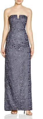Aidan Mattox Bridal Strapless Lace Gown $285 thestylecure.com
