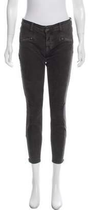 Current/Elliott The Soho Zip Stiletto Corduroy Jeans