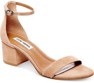 Steve Madden Women Irenee Two-Piece Block-Heel Sandals