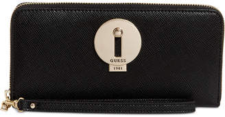 GUESS Augustina Boxed Zip Around Wallet