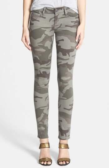 Women's True Religion Brand Jeans Casey Print Super Skinny Jeans