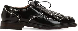 Robert Clergerie 20mm Roeloc Studded Leather Derby Shoes