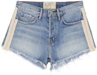 Sandrine Rose 'The Doll' tuxedo stripe denim shorts