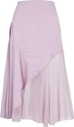 Prabal Gurung Diagonal Seamed Patch Skirt