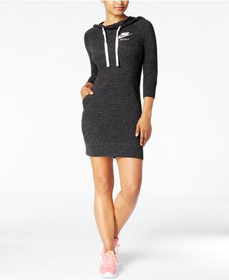 Nike Sportswear Hoodie Dress $65 thestylecure.com