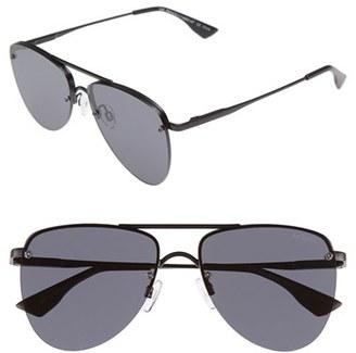 Le Specs 'The Prince' 57mm Sunglasses $89 thestylecure.com