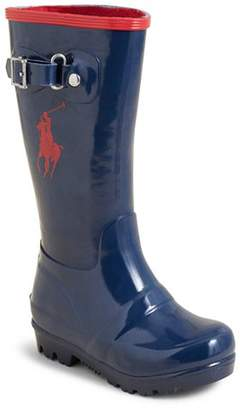 Ralph Lauren Girls' Ralph Rain Boots - Walker, Toddler