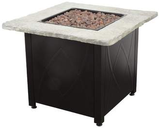 Blue Rhino Stainless Steel Propane Fire Pit Table