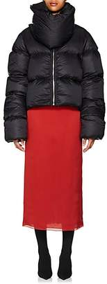 Rick Owens Women's Down Crop Puffer Jacket - Black