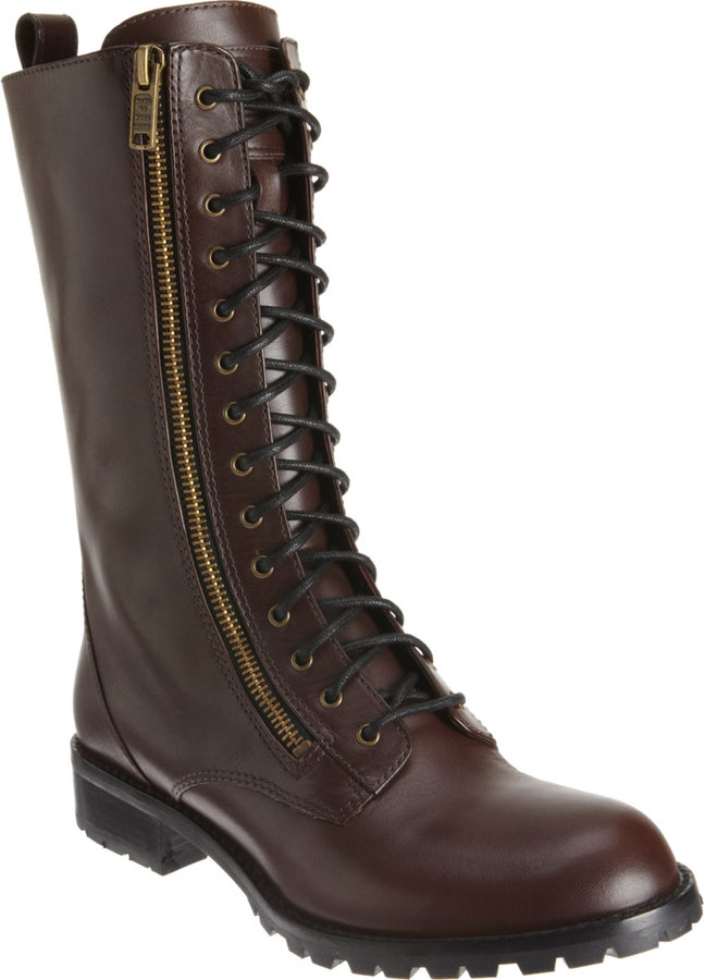 Marc by Marc Jacobs Tall Combat Boot