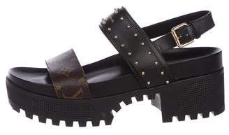 Louis Vuitton Laureate Platform Sandals