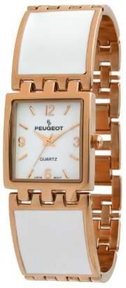 Peugeot Women's 7041WRG Analog Display Japanese Quartz Rose Gold Watch