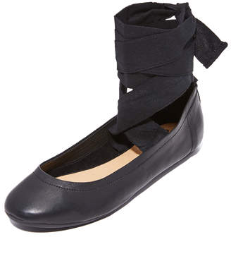 Free People Degas Ballerina Flats $68 thestylecure.com