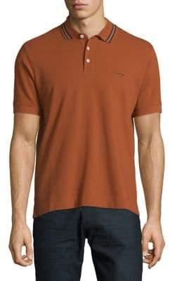 Ermenegildo Zegna Pique Cotton Polo
