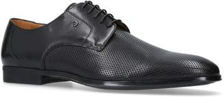 Stemar Perforated Leather Derby Shoes