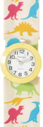 NEW Milkshake Dinosaur Slap Band Boxed Watch Yellow