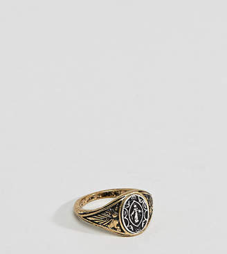 Reclaimed Vintage Inspired Gold Pinky Ring Exclusive To ASOS