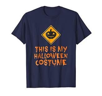 Police Sign Costume Halloween T-Shirt - Halloween Costume