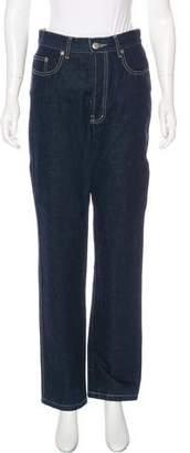 Jean Paul Gaultier High-Rise Straight-Leg Jeans