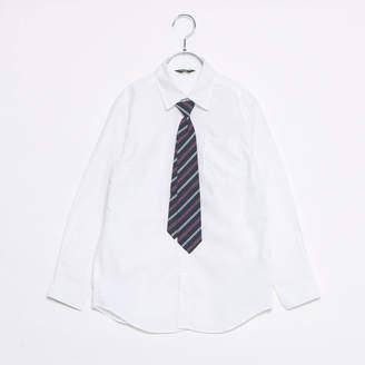 Comme Ca Ism (コムサイズム) - コムサイズム COMME CA ISM レジメンネクタイ付きシャツ(140-160cm)