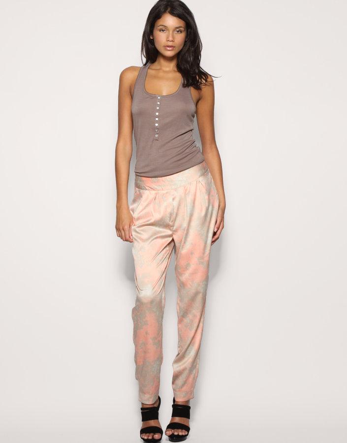 Vero Moda Printed Loose Fit Trousers