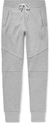 John Elliott Escobar Slim-Fit Tapered Loopback Cotton-Blend Jersey Sweatpants