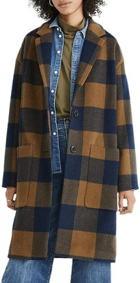 Madewell Elmcourt Buffalo Check Coat