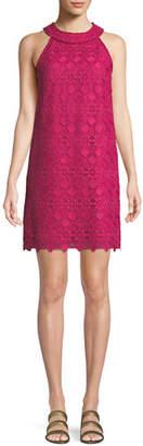 Trina Turk Deveny Halter Dress in Valencia Lace