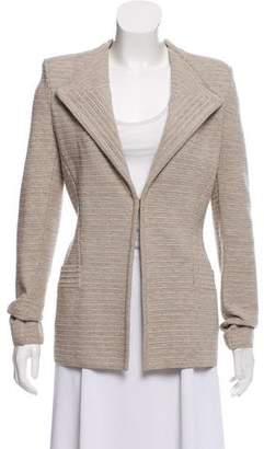 Givenchy Structured Knit Blazer