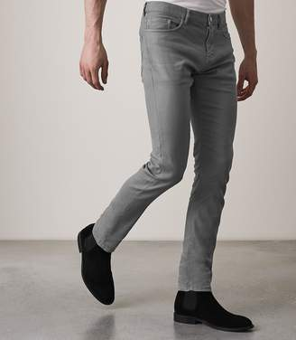 Reiss Hildon Five Pocket Linen Blend Trousers