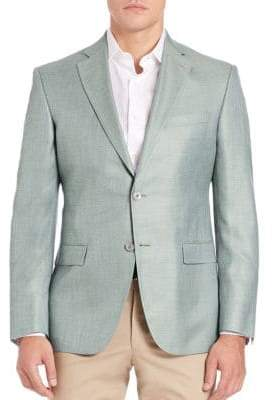 Jack Victor Two-Button Blazer
