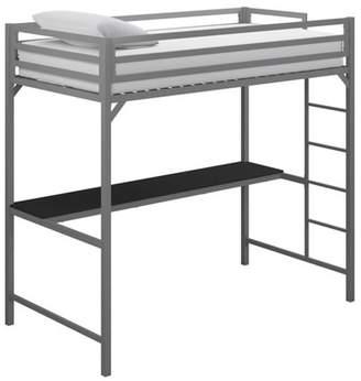LOFT Room & Joy Twin Max Metal Bed With Desk