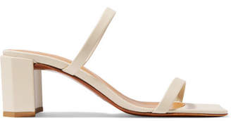 Off-White BY FAR Tanya Leather Mules