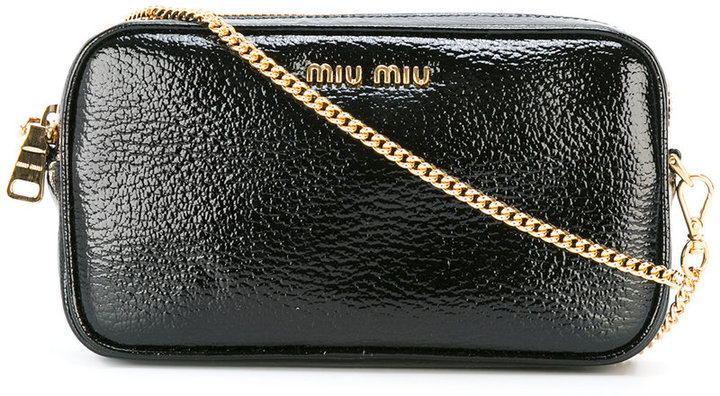 Miu MiuMiu Miu 'Little' bag with chain