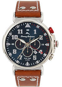 Tommy Bahama Leather Strap Watch
